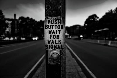 Push Button Poster by Mountain Dreams