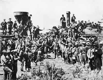 Railroading Poster by Granger