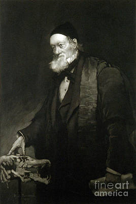 Richard Owen, English Paleontologist Poster by Wellcome Images