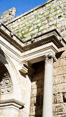 Roman Arch Poster by Tom Gowanlock