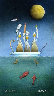 Rub-a-dub... Poster by Will Bullas
