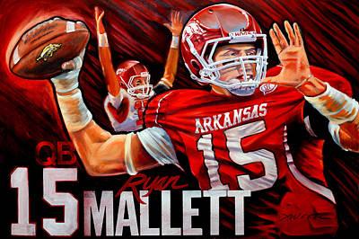 Ryan Mallett Poster by Jim Wetherington