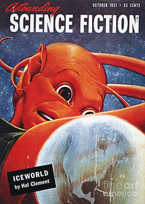 Science Fiction Magazine Poster by Granger