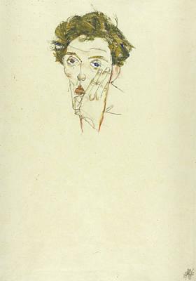Self Portrait Poster by Egon Schiele