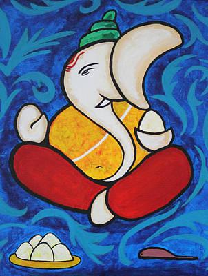 Shri Ganesh Poster by Sowjanya Sreeram
