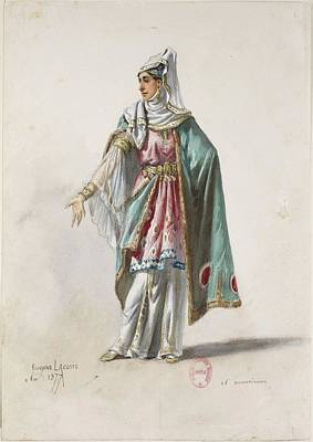 Sketches Of Ancient Armenian Costumes Poster by MotionAge Designs