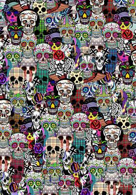 Halloween Poster by Mark Ashkenazi
