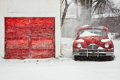 Snowed In Poster by Todd Klassy