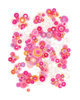 Spiral Arm Dance Poster by Regina Valluzzi