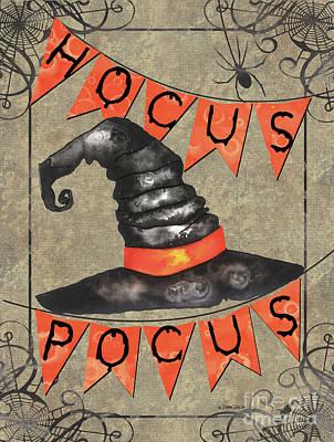 Spooky Pumpkin 1 Poster by Debbie DeWitt