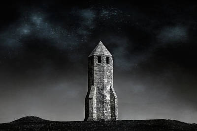 St. Catherine's Oratory -  Isle Of Wight Poster by Joana Kruse