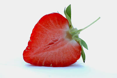 Strawberry Poster by Lanjee Chee