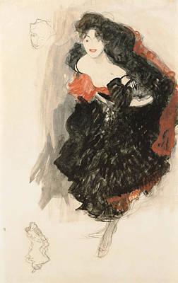 Study For Judith II Poster by Gustav Klimt