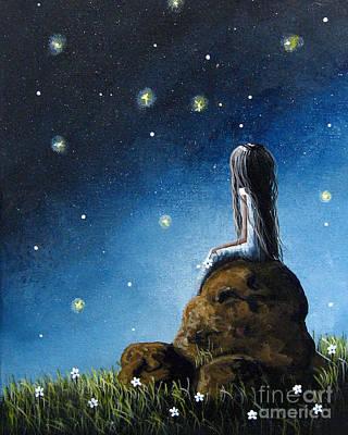 Surreal Art Print By Shawna Erback Poster by Shawna Erback