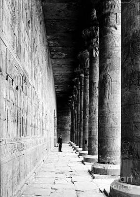 Temple Of Horus At Edfu, 20th Century Poster by Science Source