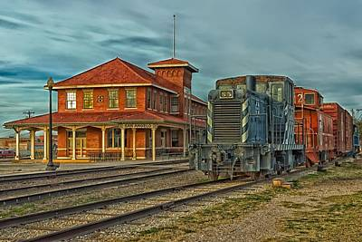 The Historic Santa Fe Railroad Station Poster by Mountain Dreams
