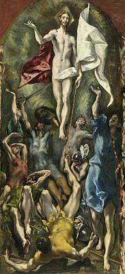 The Resurrection Poster by El Greco