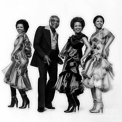 The Staple Singers Collection Poster by Marvin Blaine