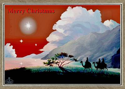 The Star Of Bethlehem Poster by Ron Chambers