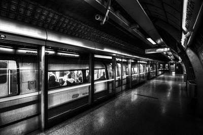 The Underground System Poster by David Pyatt