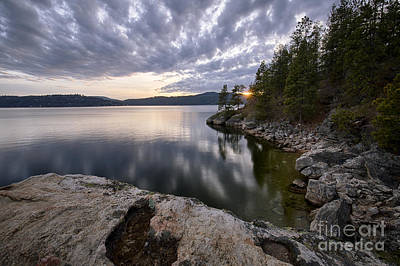 Tubbs Sunset Poster by Idaho Scenic Images Linda Lantzy