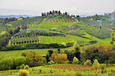 Tuscany Landscape Poster by Dutourdumonde Photography