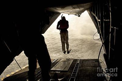 U.s. Air Force Pararescuemen Jump Poster by Stocktrek Images