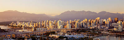 Vancouver British Columbia Canada Poster by Panoramic Images