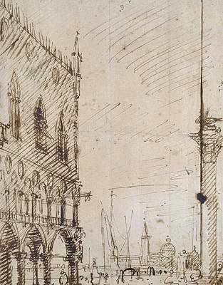 Venice Poster by Canaletto