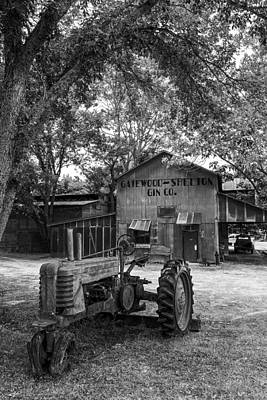 Very Old Antique Tractor - Palestine Texas Poster by Mountain Dreams