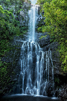 Wailua Falls Poster by Kelley King
