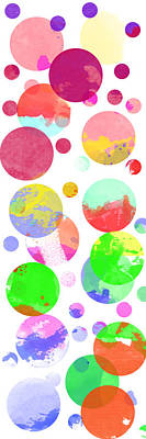 Watercolour Abstract Poster by Keshava Shukla
