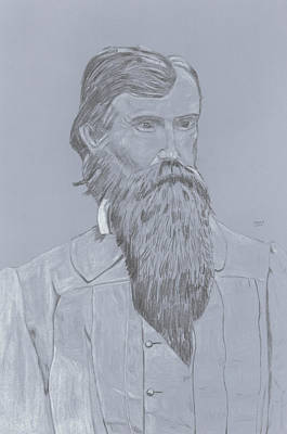 William Mahone Poster by Dennis Larson