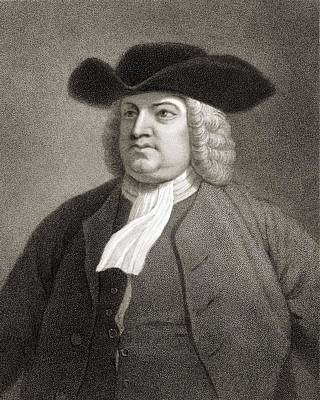 William Penn 1644-1718. English Quaker Poster by Vintage Design Pics