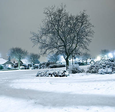 Winter Poster by Svetlana Sewell