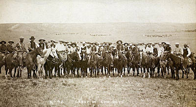 Wyoming: Cowboys, C1883 Poster by Granger