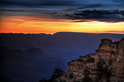 Yaki Point Dawn Poster by Andrew Soundarajan