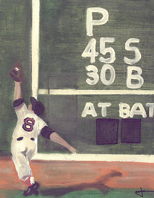 Yaz And The Green Monster Poster by Jorge Delara