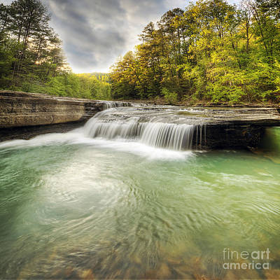 Haw Creek Falls Poster by Twenty Two North Photography