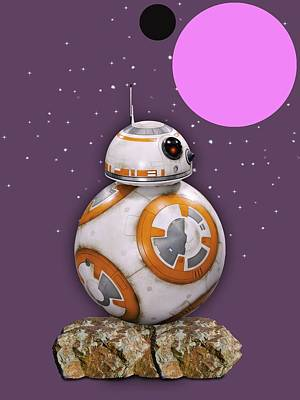 Star Wars Bb8 Collection Poster by Marvin Blaine