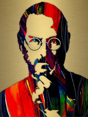 Steve Jobs Collection Poster by Marvin Blaine