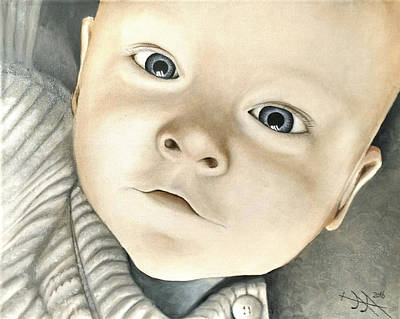 Portrait Of Raphael, 1 Poster by Ramona Boehme