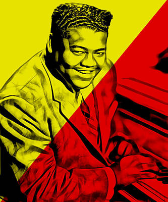 Fats Domino Collection Poster by Marvin Blaine