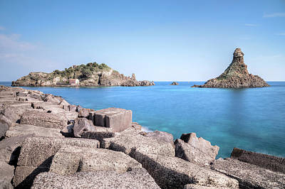 Aci Trezza - Sicily Poster by Joana Kruse