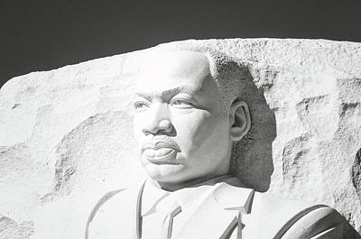 Martin Luther King Memorial In Washington Dc Poster by Brandon Bourdages