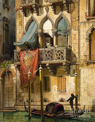 Venice Poster by Celestial Images