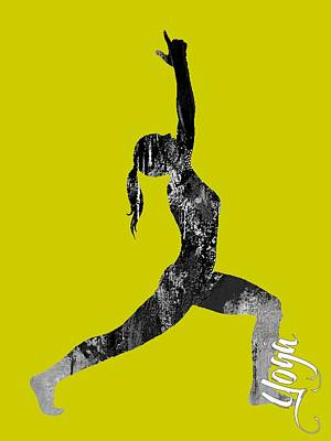 Yoga Collection Poster by Marvin Blaine