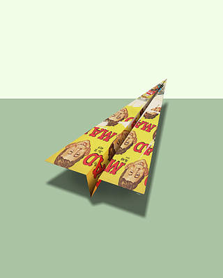 148 Mad Paper Airplanes Poster by YoPedro