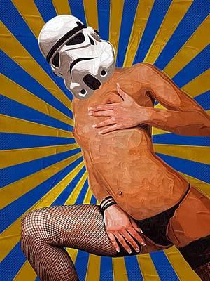 Clone Trooper Poster by Michael Vicin