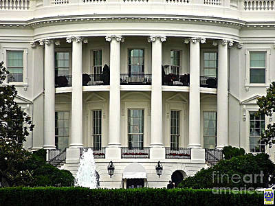 1600 Pennsylvania Avenue Poster by Casavecchia Photo Art